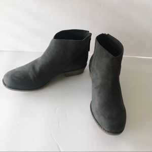 NEW Dolce Vita Grey Suede Booties